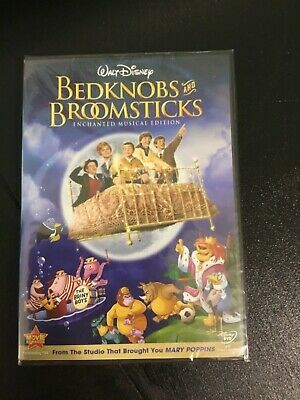 Disney's BEDKNOBS and BROOMSTICKS (1971) Enchanted Musical Edition NEW - SEALED