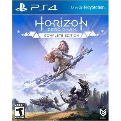 Horizon Zero Dawn Complete Edition PS4 Game (#) US Import AU Compatible In Stock