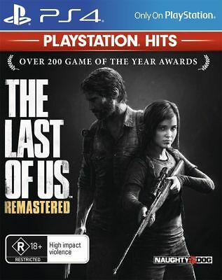 The Last of Us Remastered PS4 Playstation 4 Hits New Australian Version In Stock