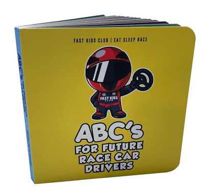 ABC Book For Future Race Car Drivers Toddler Alphabet Book, Baby and Children's