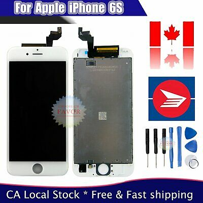 "Assembly LCD For IPhone 6S 4.7"" Touch Screen Display Digitizer White Replacement"