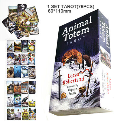 Animal Totem Tarot Cards Deck Leeza Robertson Future Telling Mystic Magic Home