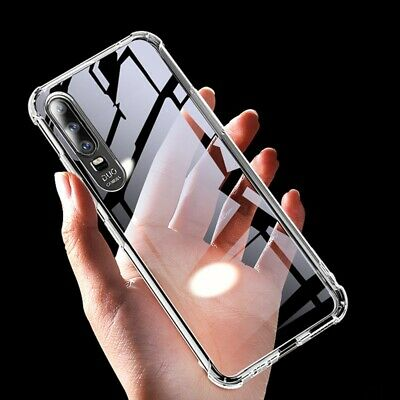 For Samsung Galaxy S10 5G A10 A20 A30 A50 A70 Soft Clear Slim Rubber Case Cover