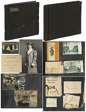 Elizabeth A WASHINGTON / Photo Albums Winter of 1904 05 and 1905 1906 Pictures