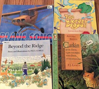 Lot of 4 Children's Picture Books, Lovely Illustrations