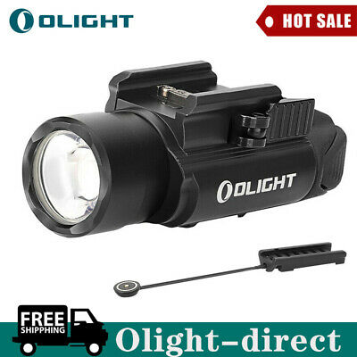 OLIGHT PL-PRO Valkyrie 1500 Lumens Rechargeable Weaponlight+RPL-7 Remote Switch