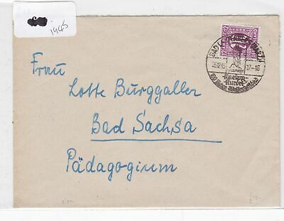 German Postal History Stamps Cover 1945  Ref 8798