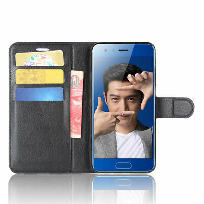 """For 5.15"""" Huawei Honor 9 phone Exclusive PU Leather Protective Case Back Cover"""