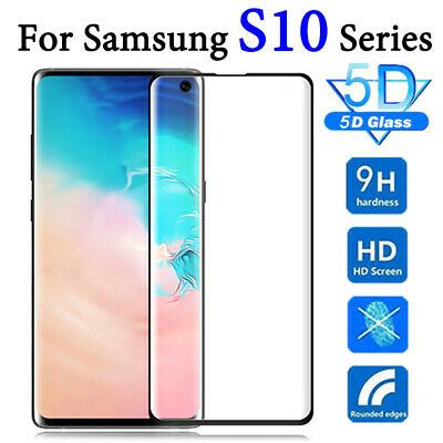 For Samsung Galaxy S10 S10e S10 Plus Tempered Glass Screen Protector Film 5D Id6