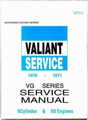 Chrysler Valiant - Workshop Service Manual : Valiant 1970-1971 VG