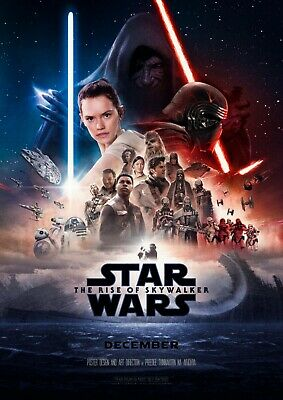 "Star Wars IX Rise of the Skywalker 2019 Movie Poster 24"" x 36"" USA SELLER"