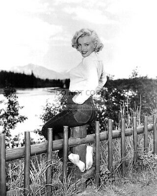 Marilyn Monroe Iconic Sex Symbol And Actress - 8X10 Publicity Photo (Nn-191)
