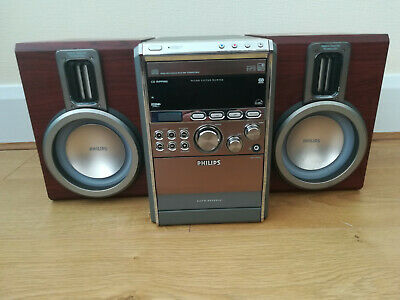 PHILIPS MCM760/05 MICRO SYSTEM **Plays MP3/WMA-CD, CD and CD-RW**