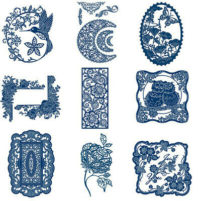 Lace Frame Metal Cutting Dies Stencil Scrapbooking Embossing Decor Album Crafts