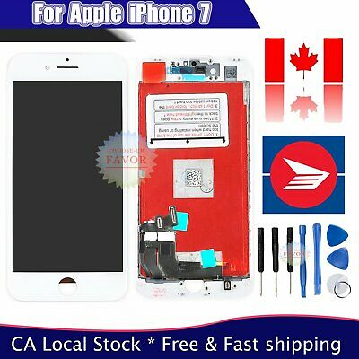 "For iPhone 7 4.7"" LCD Display Touch Screen Digitizer Assembly Replacement White"