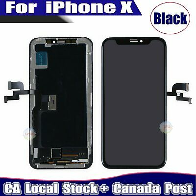 Display For iPhone X LCD Touch Screen Digitizer Replacement Assembly Black OLED