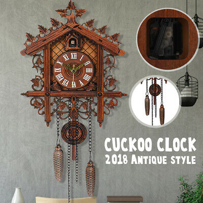 Europea wall Clock large clock Cuckoo vintage decor art House modern New home