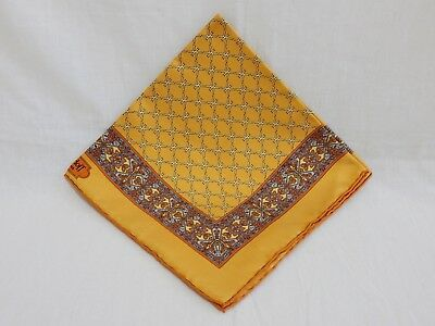 Korloff Paris – Pocket Square / Handkerchief (Yellow)