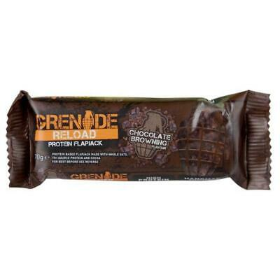 Grenade Reload Flapjacks Bar Chocolate Browning