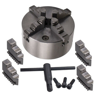 Lathe Chuck K12-125 125mm 4 Jaw Self-Centering for CNC Drilling Milling Machine