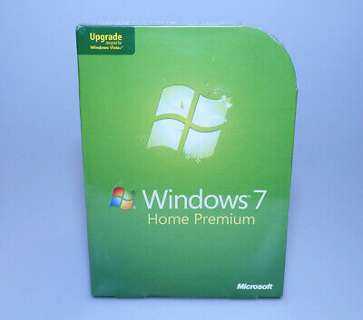 Microsoft Windows 7 Home Premium Upgrade GFC-00020 new sealed GENUINE