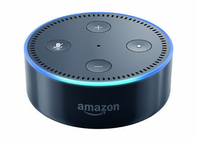 Brand New Amazon Echo Dot Multimedia Bluetooth Wireless Smart Speaker - Black