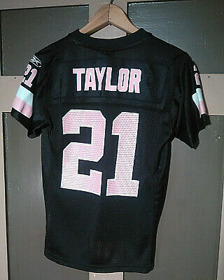 online store 2773c 27dee WASHINGTON REDSKINS NFL Jersey Sean Taylor #21 Youth Small Black Pink Girls