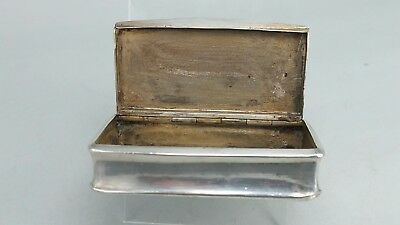 French silver snuff box by Claude Doutre Roussel Paris