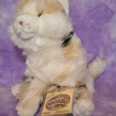 Webkinz Signature RARE MARBLE CAT  ~Brand New With Tag ~WKS1087