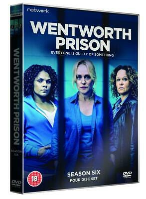 Wentworth Prison Season 6 UK DVD Brand New Sealed Fast & Free Postage