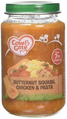 Cow & Gate Butternut Squash Chicken and Pasta 7mth+ 200g, Pack of 6