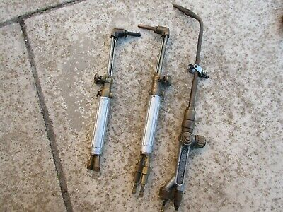 3 x Vintage British Made Welding Torches - Firefly & Milne Baby - excellent cond