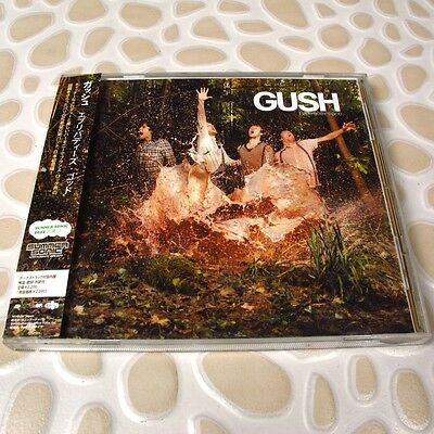 Gush - Everybody's God JAPAN CD+5 Bonus Tracks W/OBI #122-2*