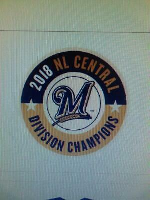 6a24d301 Milwaukee Brewers 2018 NL Central Division champions pin from Brewers  charities