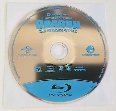 How to Train Your Dragon 3: The Hidden World (Blu-Ray, 2019) DreamWorks