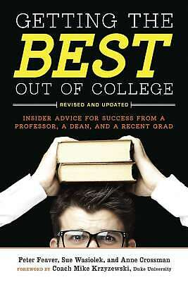 Getting the Best Out of College, Revised and Upd,Very Good,Books,mon0000148451 M