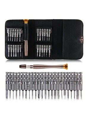 25 IN 1 Small MINI REPAIR PRECISION SCREWDRIVER TORX TOOL KIT SET PHONES FIX