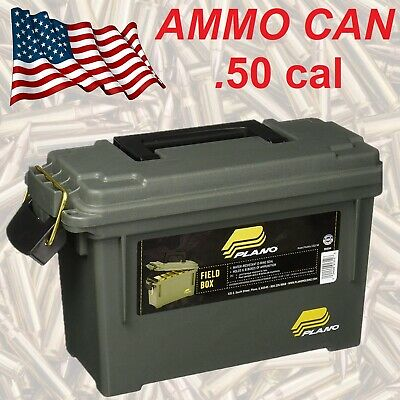 MILITARY AMMO BOX Plastic Utility Case 65 Lbs Stackable Ammunition Storage Crate