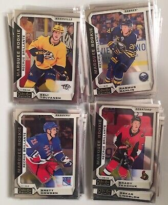 2018-2019 OPC Platinum MARQUEE ROOKIES - 2$ each - YOU PICK