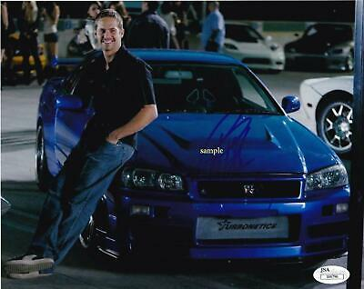 Paul Walker #2 Reprint Signed 8X10 Photo Autographed Christmas Gift Man Cave