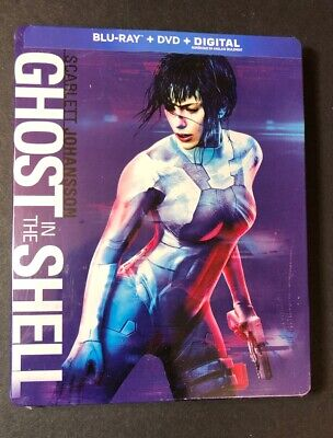 Ghost in the Shell [ Limited STEELBOOK Edition ] (Blu-ray + DVD) NEW