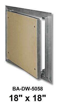Access Door Panel 18 x 18 Inch Recessed with Behind Drywall Flange