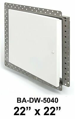 Access Door Panel 22 x 22 Inch Flush with Drywall Bead Flange