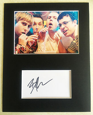 BLAKE HARRISON The Inbetweeners HAND SIGNED Autograph Mounted With Photo