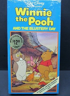 Winnie the Pooh and the Blustery Day (VHS, 1991) New in Shrink Wrap