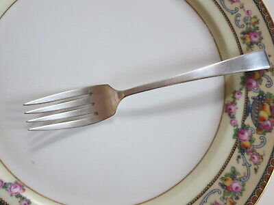 "Salad / Desert Fork CRAFTSMAN Towle Sterling Silver No Monogram 6-1/2"" Free Ship"