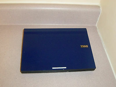 SPECIAL! NAVY BLUE FAST Slim WIN7 WIDE SCREEN WEBCAM,DUAL CORE1.6GHz,2G,80G