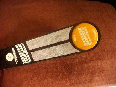 Goodwood Brewing Co  Lou Lager Tap Handle Rustic Rived Walk Stick
