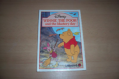 Ladybird Book Winnie The Pooh And The Blustry Day,Paper Back,1St Edition,Yrs 2-3