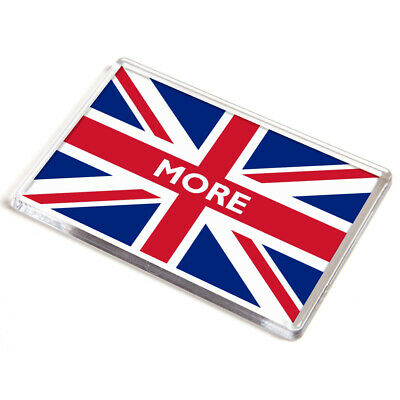 DOOR PLAQUE - More - Union Jack Flag - Surname Gift